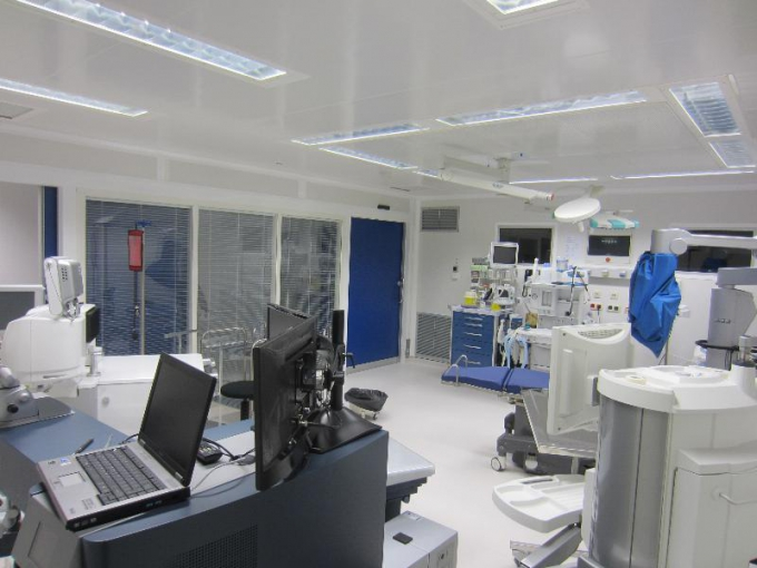 Ophthalmology operating room